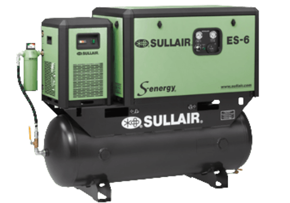 Sullair ES-6 S-energy® Rotary Screw Air Compressors